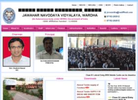 Jnvwardha.org thumbnail