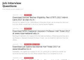 Jobinterviewquestions.in thumbnail