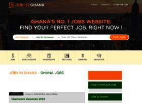 Joblistghana.com thumbnail