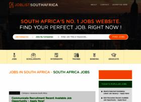 Joblistsouthafrica.com thumbnail