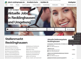 Jobs-in-recklinghausen.de thumbnail