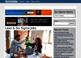 Jobs.isixsigma.com thumbnail