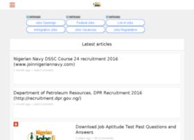 Jobs.nigeriannewsportal.com thumbnail