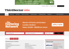 Jobs.thirdsector.co.uk thumbnail