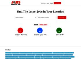 Jobsclassified.in thumbnail