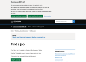 Jobseekers.direct.gov.uk thumbnail