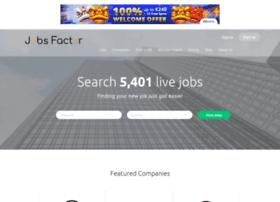 Jobsfactor.co.uk thumbnail
