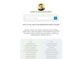 Jobsinbhubaneswar.in thumbnail