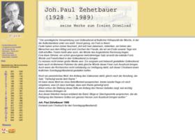Johann-paul-zehetbauer.de thumbnail