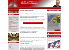 Johncryermp.co.uk thumbnail