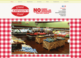 Johnsonsgiantfood.com thumbnail