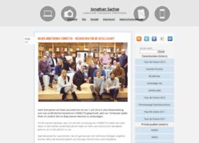 Jonathansachse.de thumbnail