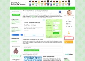 Jongensenmeisjesnamen.nl thumbnail