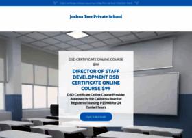 Joshuatreeprivateschool.com thumbnail