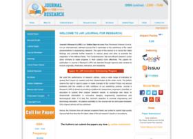 Journal4research.org thumbnail
