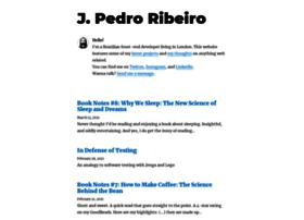 Jpedroribeiro.com thumbnail