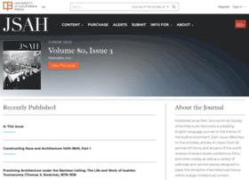 Jsah.ucpress.edu thumbnail