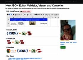 Excel Xml To Json