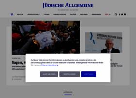 Juedische-allgemeine.de thumbnail