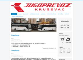 Jugoprevozks.rs thumbnail