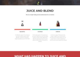 juiceandblend.com.au at WI. Kuvings Juicers Hurom Juicers Blendtec Blenders