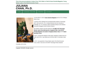 Julianachan.org thumbnail