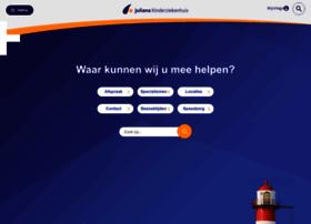Julianakinderziekenhuis.nl thumbnail