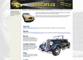Justcars.ca thumbnail