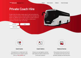 Justcoachhire.co.uk thumbnail