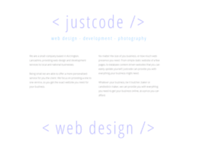 Justcode.co.uk thumbnail