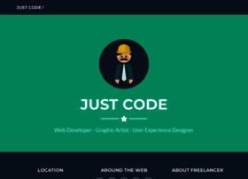 Justcode.se thumbnail