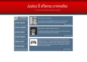 Justice-affairescriminelles.org thumbnail