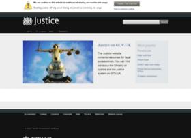 Justice.gov.uk thumbnail