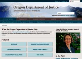 Justice.oregon.gov thumbnail