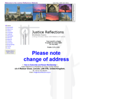 Justicereflections.org.uk thumbnail