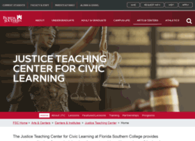 Justiceteaching.org thumbnail