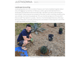 Justinsomnia.org thumbnail