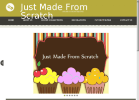 Justmadefromscratch.com thumbnail