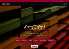Justprint.dk thumbnail