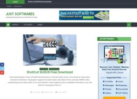Justsoftwares.pro thumbnail