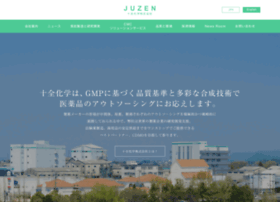 Juzen-chem.co.jp thumbnail