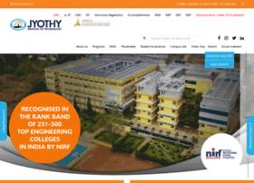 Jyothyit.ac.in thumbnail
