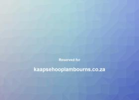 Kaapsehooplambourns.co.za thumbnail