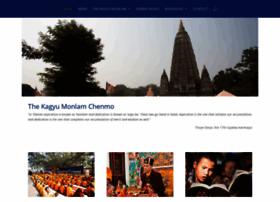 Kagyumonlamchenmo.org thumbnail