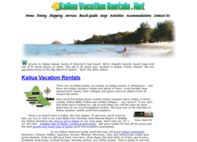 Kailuavacationrentals.net thumbnail
