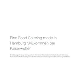 Kaiserwetter-catering.de thumbnail