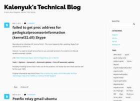Kalenyuk.com.ua thumbnail