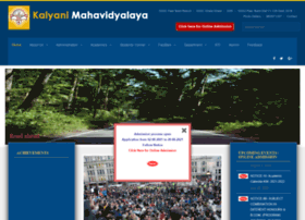 Kalyanimahavidyalaya.net.in thumbnail