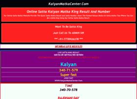 Kalyanmatkacenter.com thumbnail