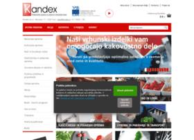 Kandex.si thumbnail